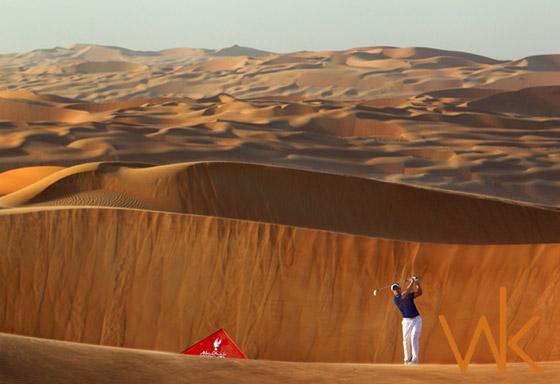 Wouter Kingma - Liwa Golf