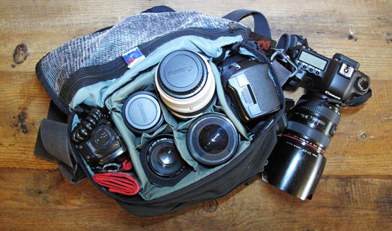 Peter Taylor's bag