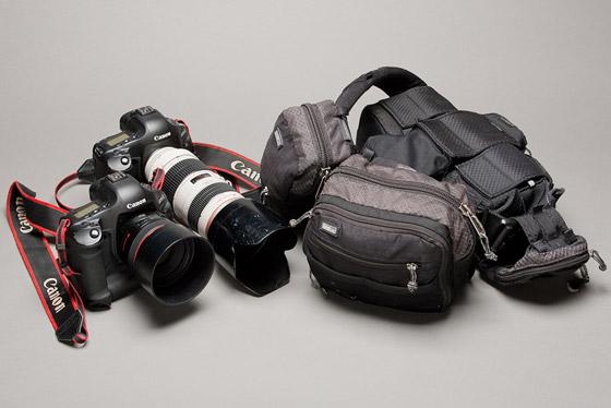 cameras and belt