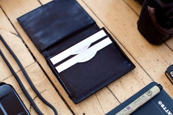Peter Larson's bag