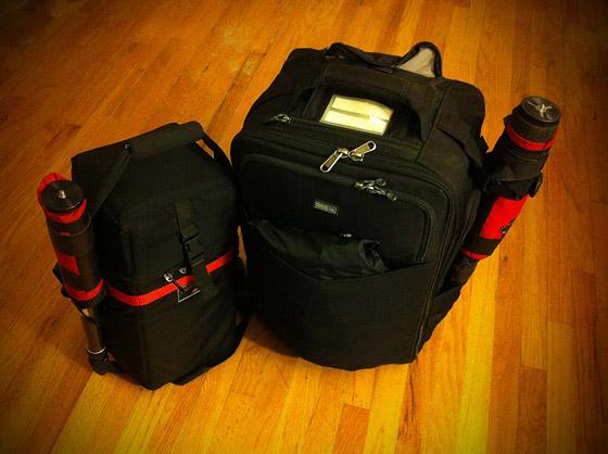 David Bergman's bag