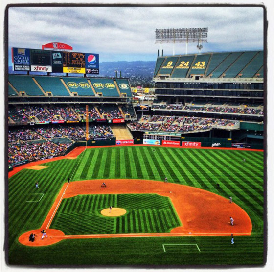 Oakland Athletics ballpark