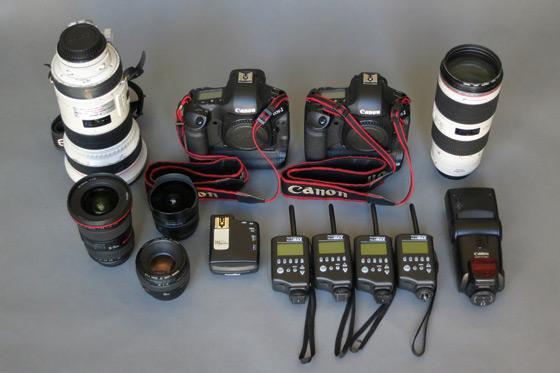 Ric Tapia's gear