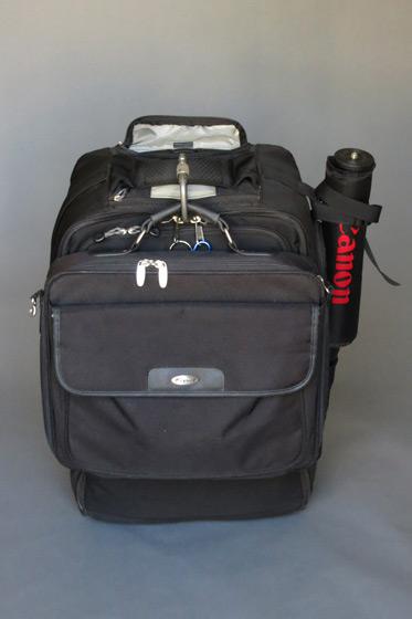 Ric Tapia's camera bag