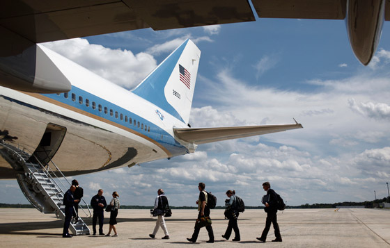 Traveling Aboard Air Force One
