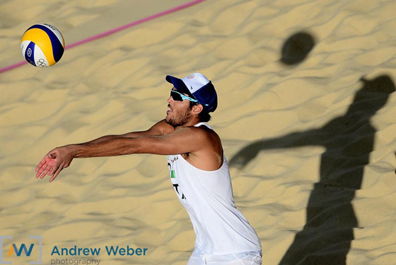Olympics beach volleyball