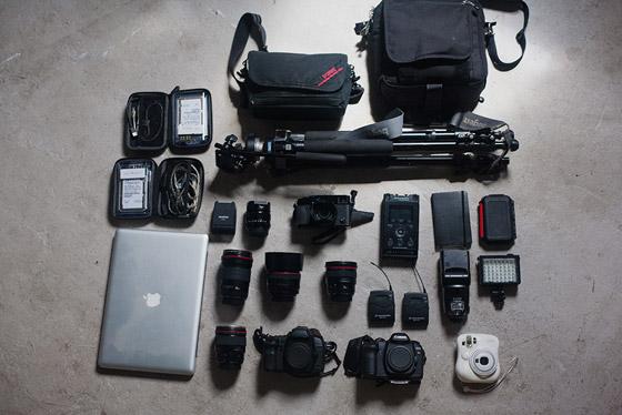 Matt Eich's gear