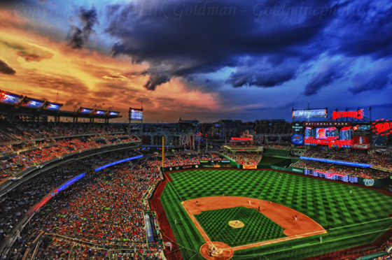 Phillies at Nationals HDR