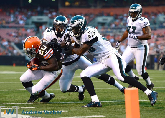 Philadelphia Eagles at Cleveland Browns