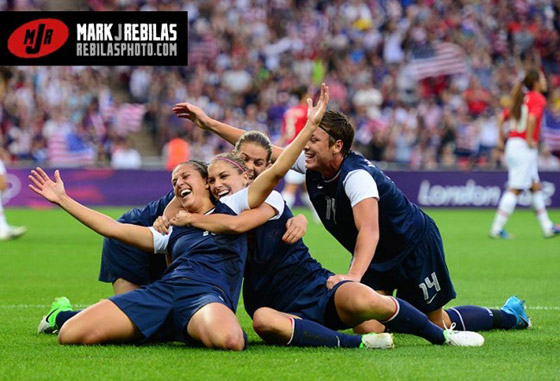 Usa Soccer Team Women Team USA Women Take th...