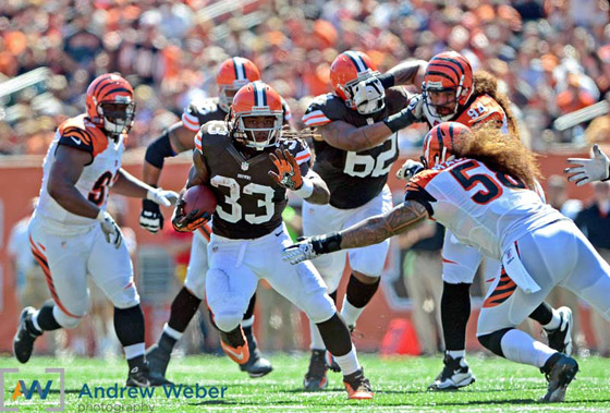 Cincinnati Bengals vs Cleveland Browns