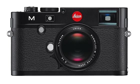 Leica M black front