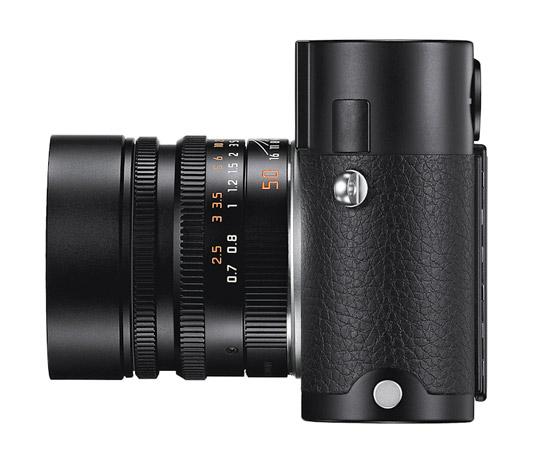 Leica M black left