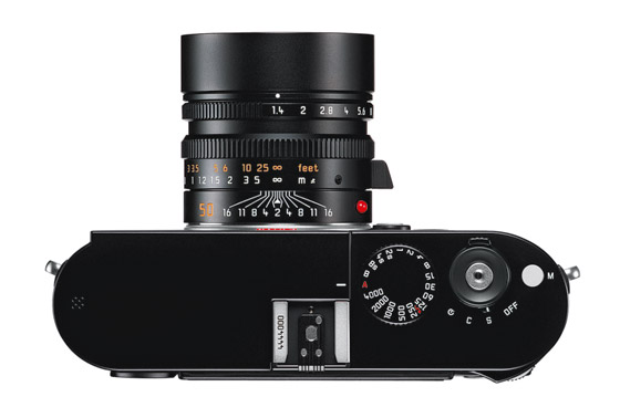 Leica M black top