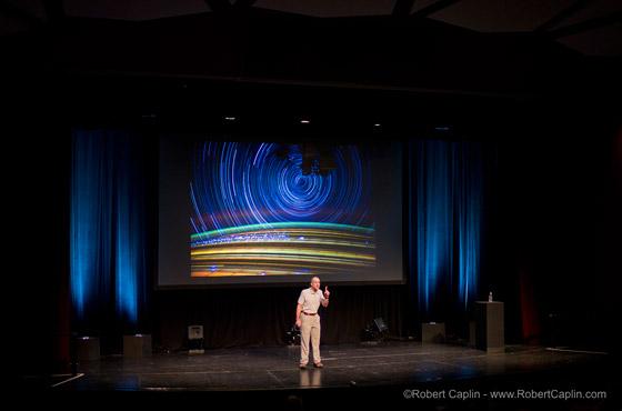Don Pettit at Luminance