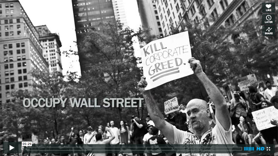 Occupy Wall Street video