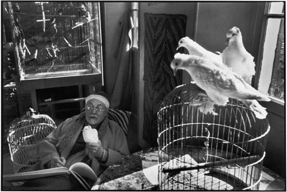 Henri-Matisse at his home villa