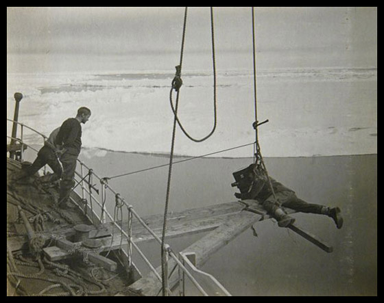 Herbert Ponting Leaving Terra Nova