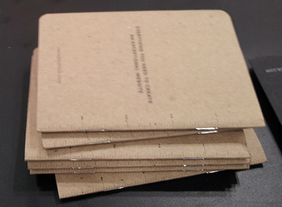 Squarespace notebook