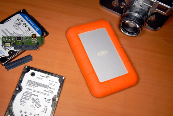 LaCie Rugged USB 3 Thunderbolt SSD
