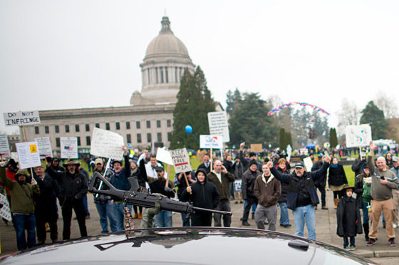 Guns Across America rally