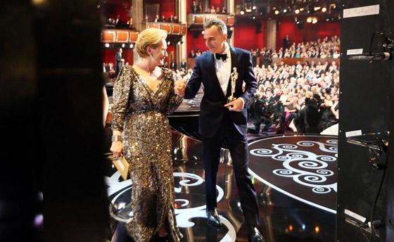 Oscars 2013 - Meryl Streep & Daniel Day-Lewis