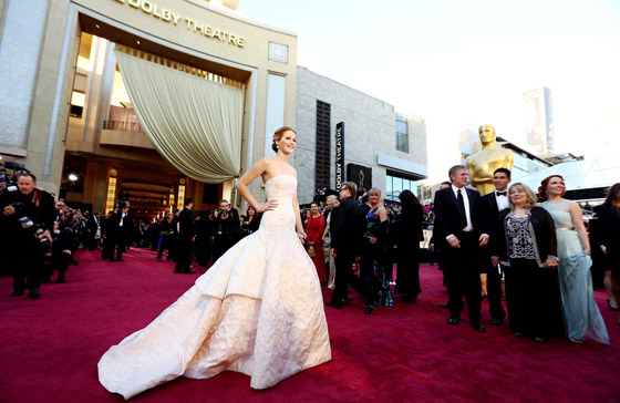Oscars 2013 - Jennifer Lawrence