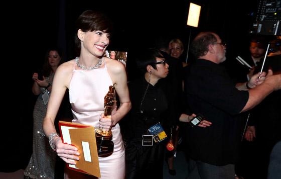 Oscars 2013 - Anne Hathaway