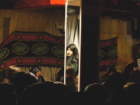 """The Day of Ashura in Berlin"" (workshop held by Monika Bulaj) - Photo by Tanya Mar"