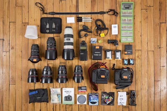 Steve Boyle's gear