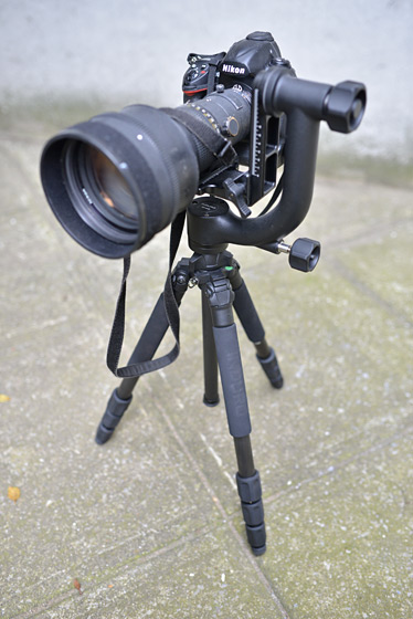 Induro tripod and Gimbal head