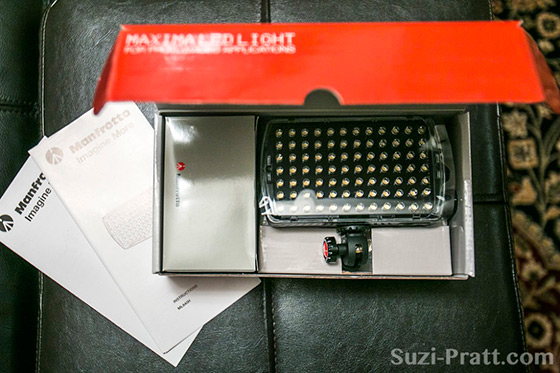 Manfrotto Maxima 84 LED