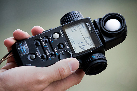 Sekonic L-758Cine light meter