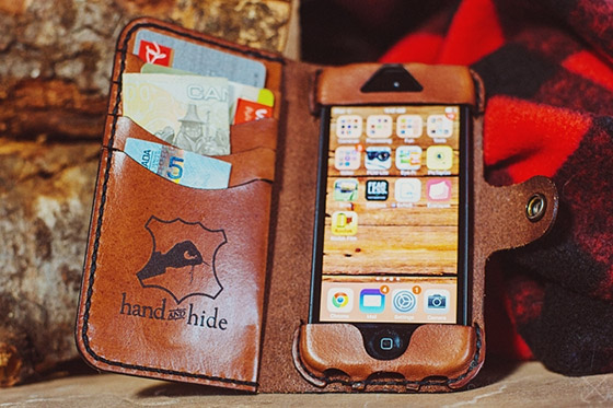 Hand and Hide iPhone Case