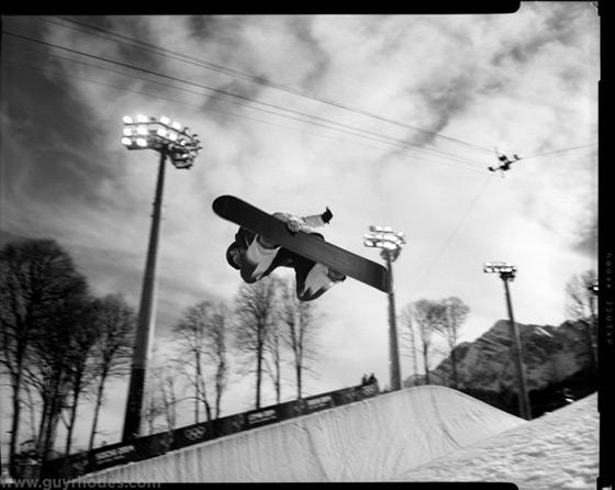 Olympics 4x5 Film