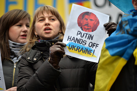 Pro Ukraine Protest
