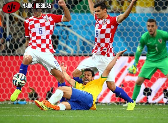 Brazil vs Croatia - World Cup
