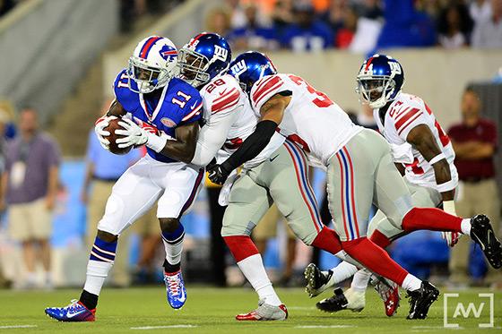 NY Giants vs Buffalo Bills