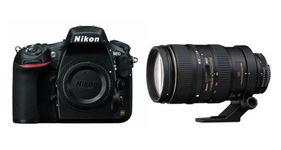 Nikon D810 - 80-400mm