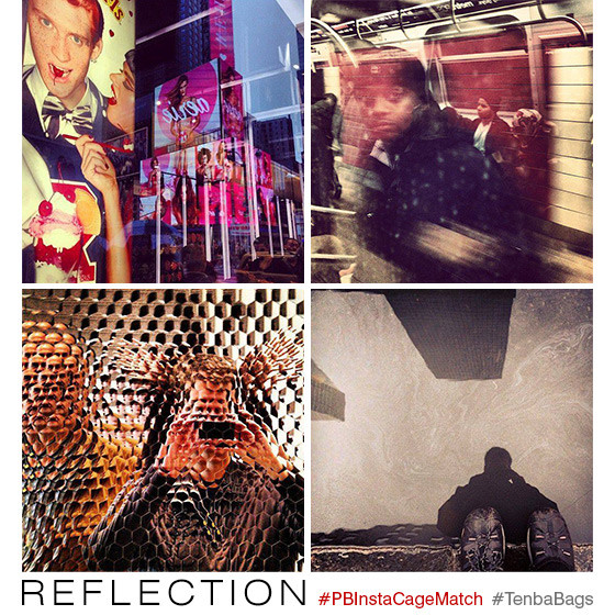 instagram contest - reflection