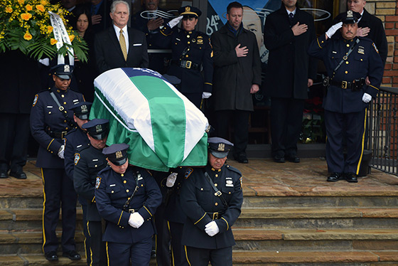Officer Liu Funeral