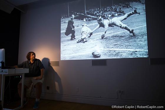 Brad Mangin - History of Baseball