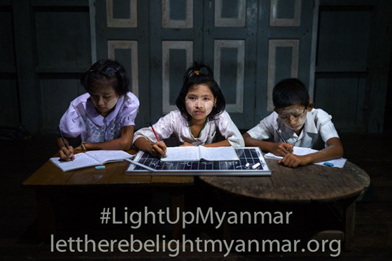 Light Up Myanmar