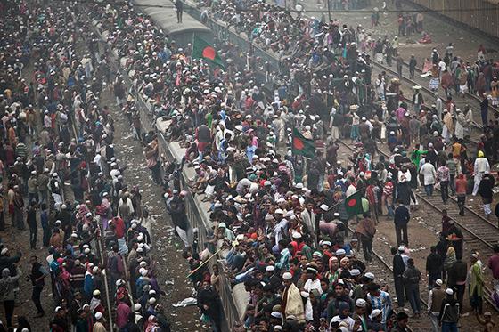 Bishwa Ijtema 2015 in Bangladesh for Getty – by Allison Joyce