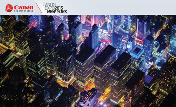 Canon Expo 2015 NY