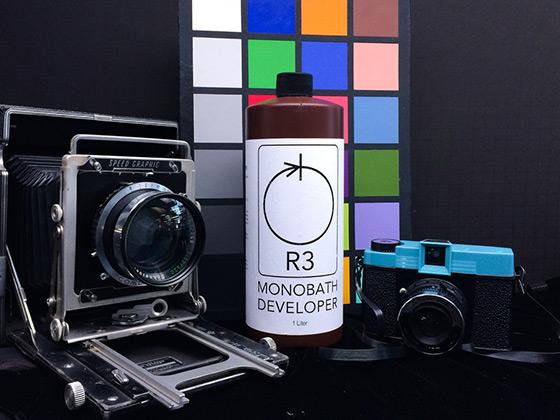 R3 monobath developer