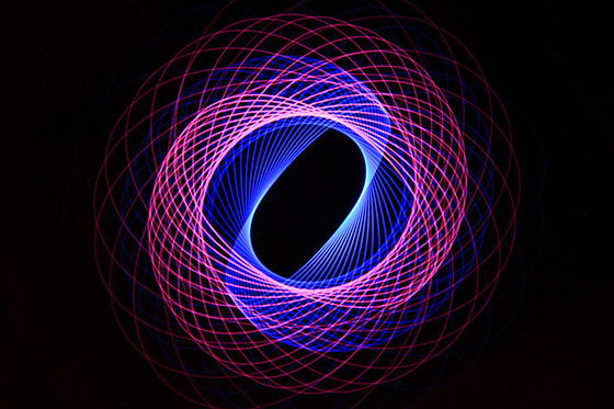 Light Painting Spirograph