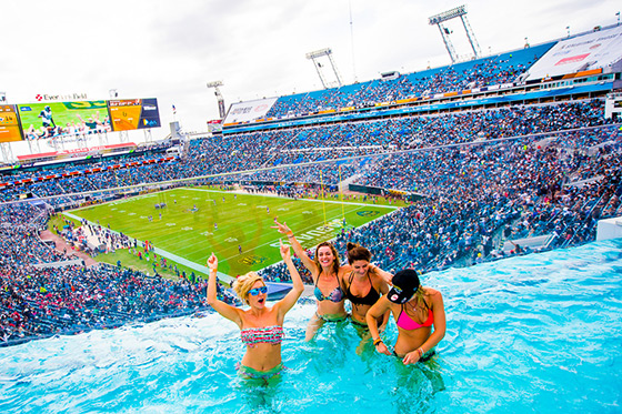 The hall pass jaguars v texans by chip litherland - Jacksonville jaguars swimming pool ...