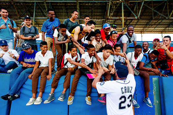 MLB and the MLB Players Association embark on a goodwill tour in Cuba led by Joe Torre and Dave Winfield along with a number of current stars.