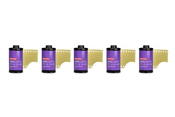 Lomochrome purple film